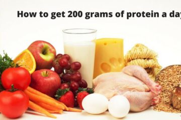 eat 200 grams of protein a day
