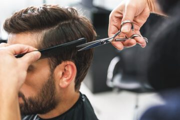 choosing a hair salon